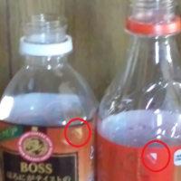 ペットボトルゴミの分別