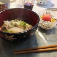 温かいきりたんぽ鍋を囲みました。
