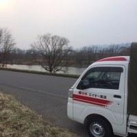 長野市にて「千曲川」