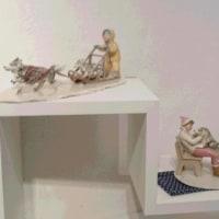 友人の作品展の新規ご紹介と大矢さんの作品展の様子を