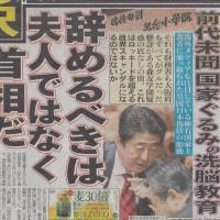 安倍晋三小学校問題 NHKは報道を避ける!!アベは大阪で動いていた!!