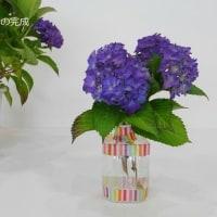 チョコっとペットボトル 花を飾る