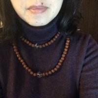 不思議な数珠ネックレス