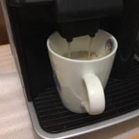 GWの行き先検討しながらのカフェオレタイム
