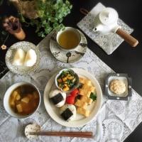【小澤基晴】さんの藁灰釉7寸リム皿(2)
