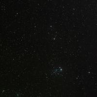 【カシオペア座】 美しい散開星団 NGC457とNGC436