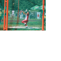 デフリンピック通信7 ハンマー投げ