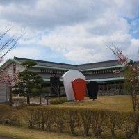 桜吹雪の中 ♡ ドライブ♪ (鬼の館)
