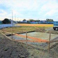 ちょっと良い貸家プロジェクト!『 岬町中原のリノべ風?な貸家 』。基礎工事開始!しました。