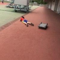 競技場練習。