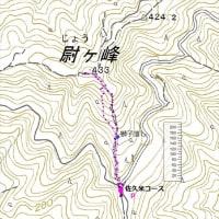 17-7:尉ケ峰・佐久米コース林道口より《 引佐山地 》