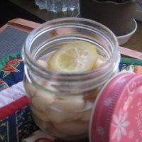 レモン風味の煮豆
