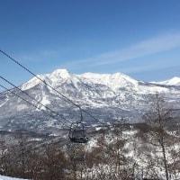 京都新聞シニアスキーツアー 斑尾は最高のお天気!!