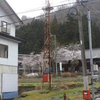 飯山市照岡の火の見櫓