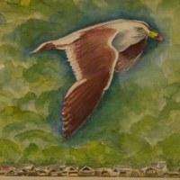 第12回 湖水会水彩画作品展おえる