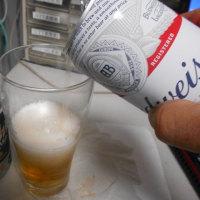 辛口ビールにアメリカンなビールを混ぜてみる。