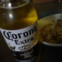 夜スタバの後は。。。Corona Extra!