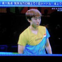 ブラジル五輪 女子卓球 日本 vs シンガポール 〜 相手の選手は女性なのか?!。