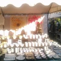 秋の益子陶器市ありがとうございました!次の出店は森×ARTです♪