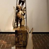 彫刻家  寺山 三佳さんの作品・・・・日彫展 東京都美術館
