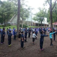 中1・中2サマーキャンプ 3日目(朝)
