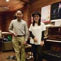 2017 3 21続木力(hac)矢野嘉子(p)at高槻JK Cafe ライブレポート
