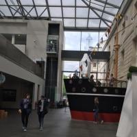 水上バスで行くグリニッジ海洋博物館の旅