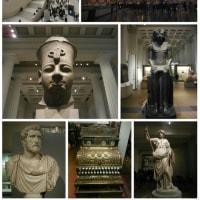 夜の大英博物館
