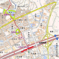 聖地公園~松山下公園~光堂~浦幡公園~千葉NT中央駅