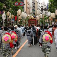 9/18 氷川神社-宮神輿お披露目巡行へ