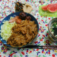 今日の昼弁当4