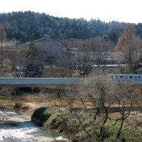 広瀬川と仙台市営地下鉄東西線