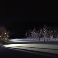 青い池💙冬❄️✨