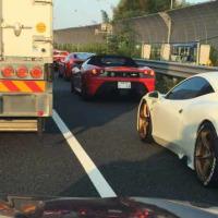 大停滞でフェラーリを見た