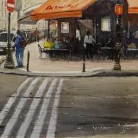 「 パリのカフェ 2 」