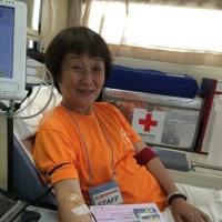 中山道まつりで献血