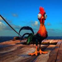 伝説の海のモアナとオキテ破りの鶏ヘイヘイ