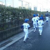 四つ木ジャガーズ(葛飾区四つ木・堀切の少年野球チーム)の練習の様子です('15年1月31日~)