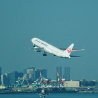 「TOKYOエアポート」C滑走路、第2ターミナルより