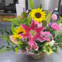 KLAのOBの皆様、お花をありがとう!