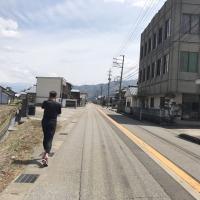 健康ジョギング  in  勝山街道コース!