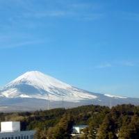 青空に映える富士山