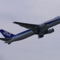 ANAの2020ジェットが飛来♪(5月21日)