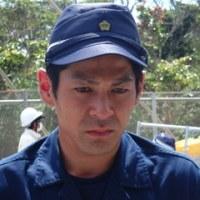 沖縄県民弾圧のために派遣された大阪府警機動隊の面々。