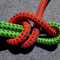 ロープをつなぐ