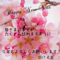 2017年 今年もよろしくお願いします