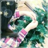クリスマスツリーを飾る2016
