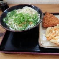 四国善通寺前で食べたうどん
