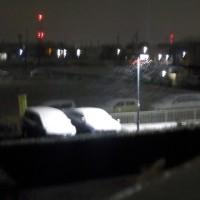 未明から大雪の予感・・