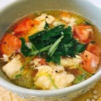 トマトと春雨のスープ